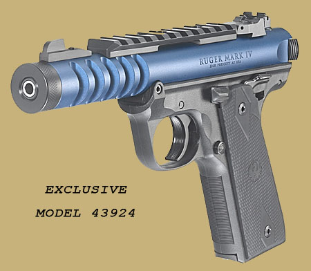 Пистолет  Ruger Mk.IV 22/45 Lite   RSR Group Distributor Exclusive