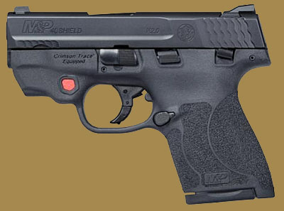 Пистолет  Smith & Wesson M&P40 Shield M2.0 Integrated Crimson Trace Red Laser