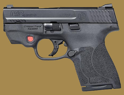 Пистолет  Smith & Wesson M&P40 Shield M2.0 Integrated Crimson Trace Red Laser NTS