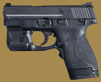 Пистолет  Smith & Wesson M&P40 Shield M2.0 Laserguard Pro Green Laser/Light Combo