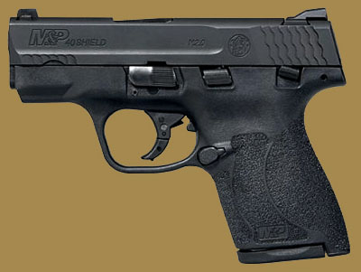 Пистолет  Smith & Wesson M&P40 Shield M2.0 Manual Thumb Safety