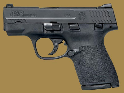 Пистолет  Smith & Wesson M&P40 Shield M2.0 Manual Thumb Safety MA Compliant