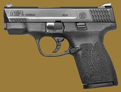 Пистолет  Smith & Wesson M&P45 Shield M2.0 Tritium Night Sights