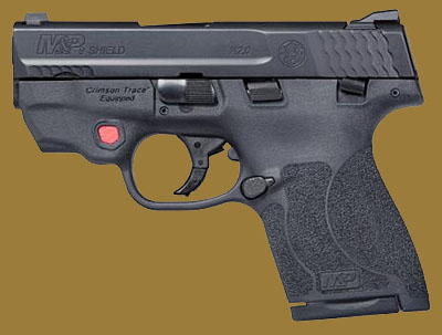 Пистолет  Smith & Wesson M&P9 Shield M2.0 Integrated Crimson Trace Red Laser