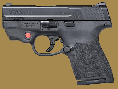 Пистолет  Smith & Wesson M&P9 Shield M2.0 Integrated Crimson TraceRed  Laser NTS