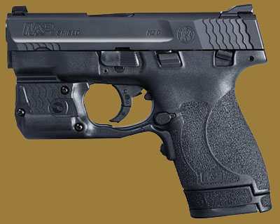 Пистолет  Smith & Wesson M&P9 Shield M2.0 Laserguard Pro Green Laser/Light Combo