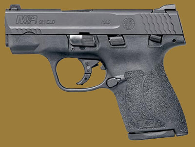 Пистолет  Smith & Wesson M&P9 Shield M2.0 Manual Thumb Safety MA Compliant