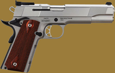 Пистолет Smith & Wesson SW1911