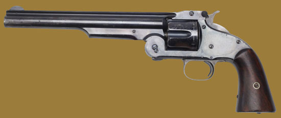 Револьвер  Smith & Wesson American 1870