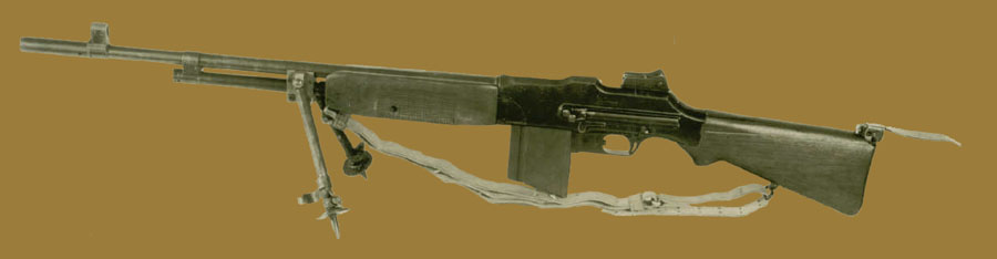 Пулемет  Browning M1918A1