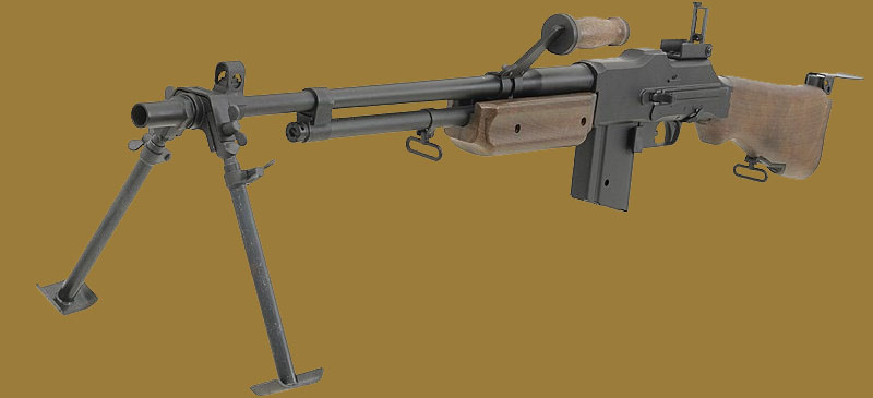 Пулемет  Browning M1918A2
