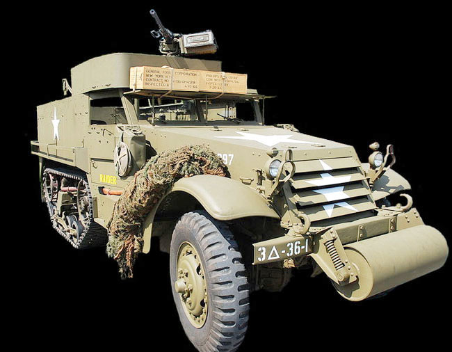 БТР  M3A1 Half-Track Personel Carrier