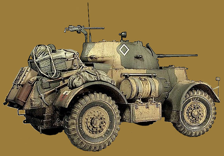 Бронеавтомобиль  Т17Е1 Стэгхаунд Мк.I (T17E1 Staghound Mk.I