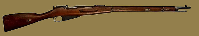 Магазинная винтовка Мосина Драгунская М1891 (Mosin rifle Dragoon M1891)