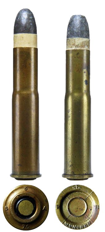 Патроны 11,15 × 60Р Маузер (Cartridges 11,15 × 60R Mauser)