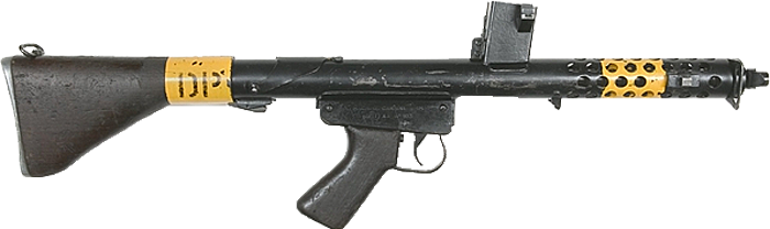 Пистолет-пулемет Ф1 (F1 submachine gun)